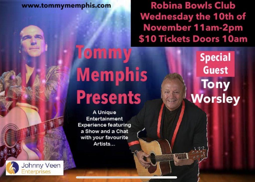 1. Tommy Memphis November